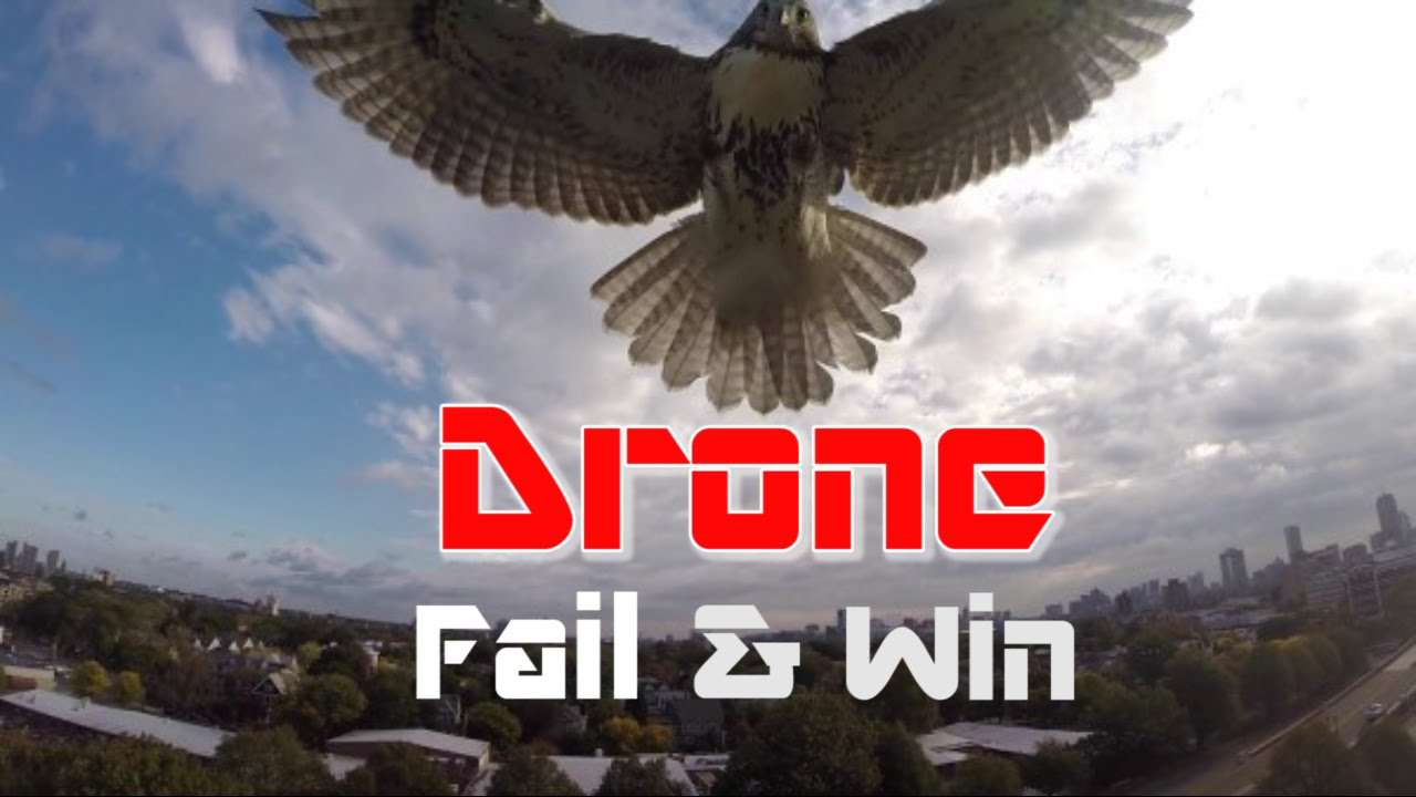 Drone Crash, Fail & Win Compilation 2015, Part 1/3 (watch in 1080p)