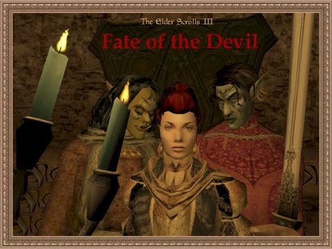 MORROWIND-Mod: Fate of the Devil. Автор Вячеслав Котляров.