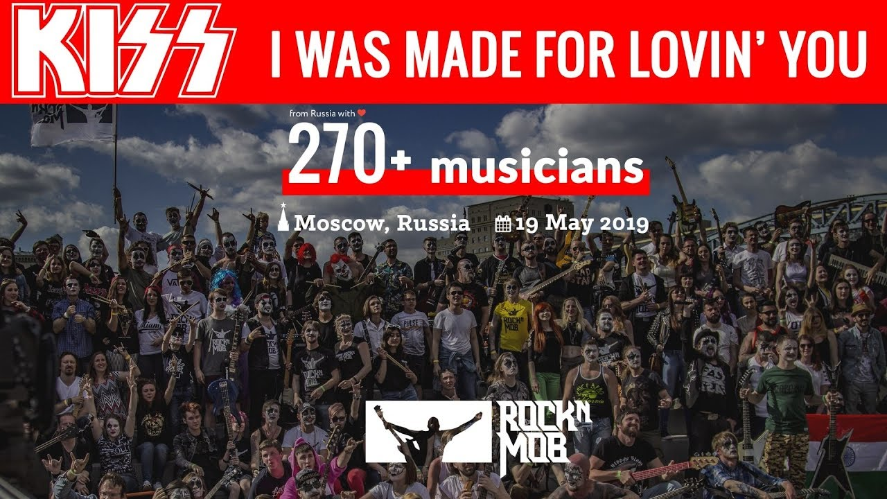 I Was Made For Lovin' You - KISS. Rocknmob Moscow #8, 270+ musicians