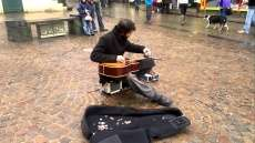 Jack Broadbent Amazing busker should be WORLD famous!!